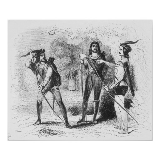 Robin Hood, Scarlet and John Poster