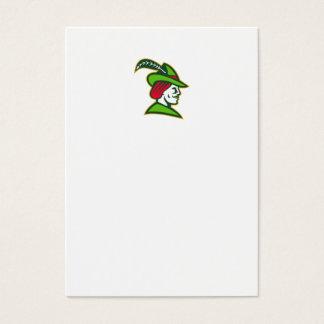 Robin Hood Side Retro Business Card