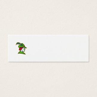 Robin Hood Side Retro Mini Business Card