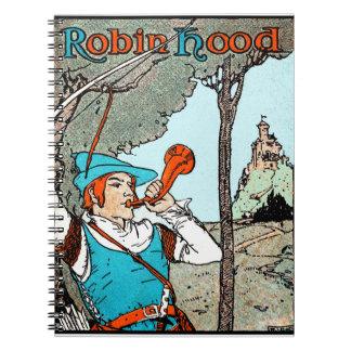 Robin Hood Spiral Notebook