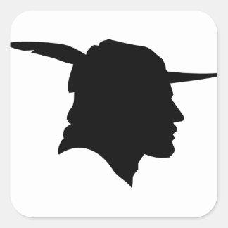 Robin-Hood Square Sticker