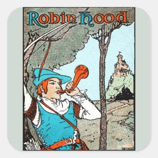 Robin Hood Square Sticker