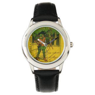 Robin Hood, su arco y flecha Reloj De Mano