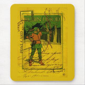 Robin Hood, su arco y flecha Tapete De Ratón