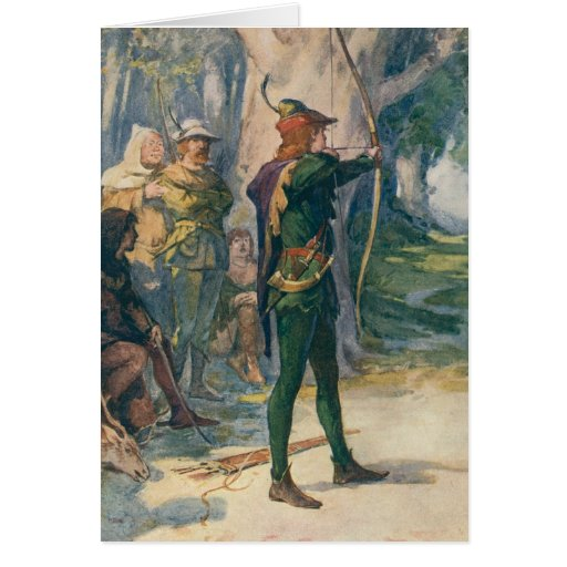 Robin Hood Tarjeta