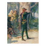 Robin Hood Tarjeta Postal