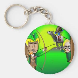 Robin Hood Trump Keychain