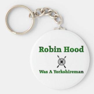 Robin Hood Was A Yorkshireman Keychain
