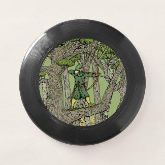 Robin Hood Wham-O Frisbee