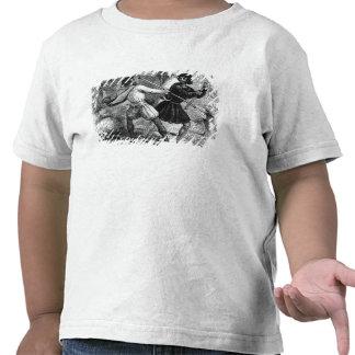Robin Hood y el Tanner con las barras de hierro Camiseta