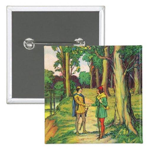 Robin Hood y pequeño Juan Pin