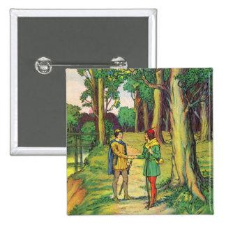 Robin Hood y pequeño Juan Pin Cuadrado