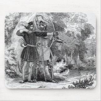 Robin Hood y pequeño Juan Tapetes De Ratón