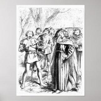 Robin Hood y rey Richard I Póster