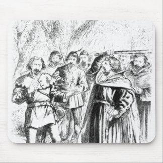 Robin Hood y rey Richard I Alfombrilla De Ratón