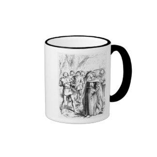 Robin Hood y rey Richard I Taza De Café