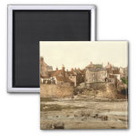 Robin Hood's Bay II, Whitby, Yorkshire, England 2 Inch Square Magnet