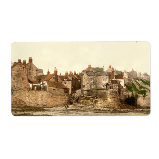 Robin Hood's Bay II, Whitby, Yorkshire, England Label