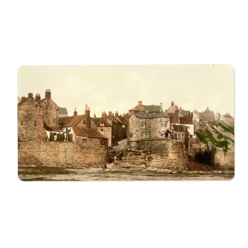 Robin Hood's Bay II, Whitby, Yorkshire, England Personalized Shipping Label