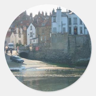 Robin Hoods Bay, North Yorkshire Classic Round Sticker