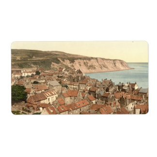 Robin Hood's Bay, Whitby, Yorkshire, England Label