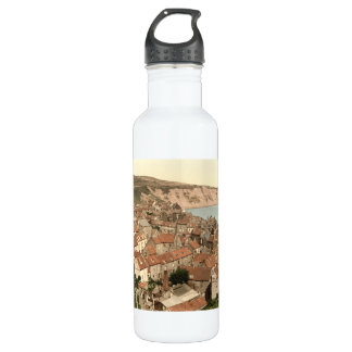 Robin Hood's Bay, Whitby, Yorkshire, England 24oz Water Bottle