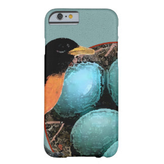 Robin In Bird Nest Design Barely There iPhone 6 Case