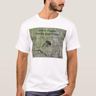 Robin In Prayer T-Shirt
