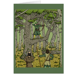 Robin in Sherwood Card