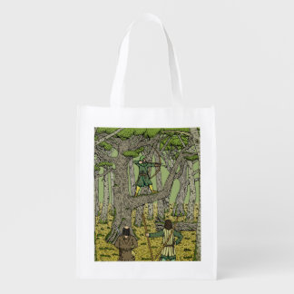 Robin in Sherwood Grocery Bag