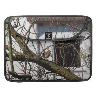 robin in the tree MacBook pro sleeve