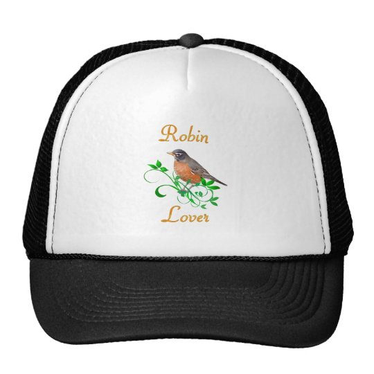 Robin Lover Trucker Hat