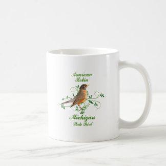 Robin Michigan State Bird Mugs