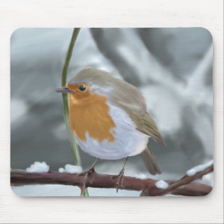 Robin mouse mat mouse pad