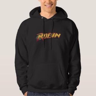 Robin Name Logo Hoodie