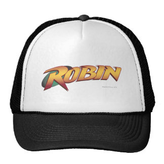 Robin Name Logo Trucker Hat