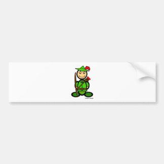 Robin Odd (plain) Bumper Sticker
