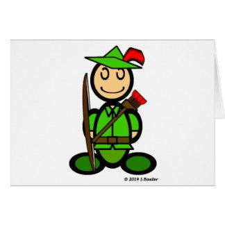 Robin Odd (plain) Card
