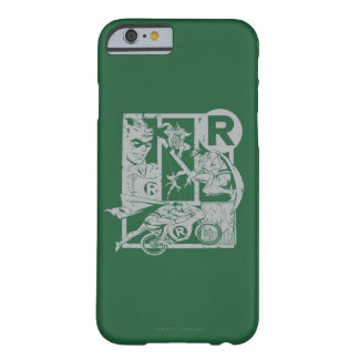 Robin - Picto Grey Barely There iPhone 6 Case