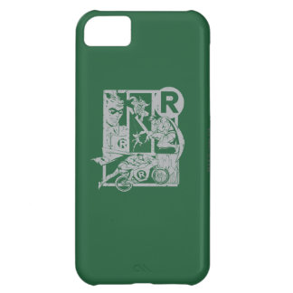 Robin - Picto Grey Case For iPhone 5C