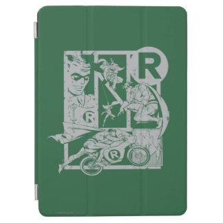 Robin - Picto Grey iPad Air Cover