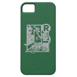 Robin - Picto Grey iPhone SE/5/5s Case