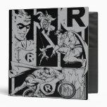Robin - Picto Grey Vinyl Binders