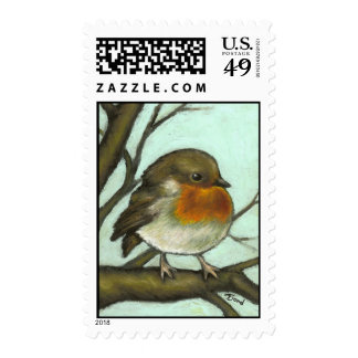 Robin Postage Stamps