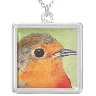 Robin Red Breast | Bird Art Pendant