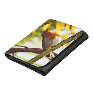 Robin red breast bird wallets