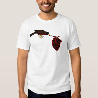 Robin Red Breast Has your black Heart - Dark humor T-Shirt