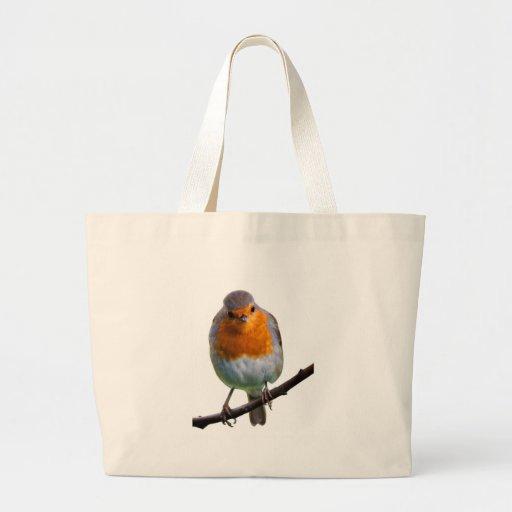 Robin Red Breast Jumbo Tote Bag