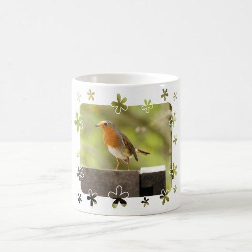 Robin red-breast mug