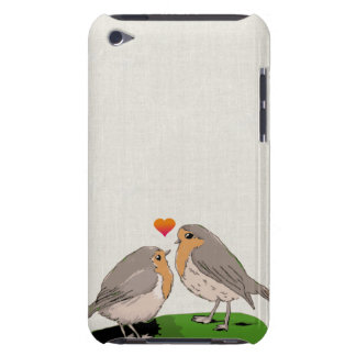 Robin redbreast bird love iPod touch cover